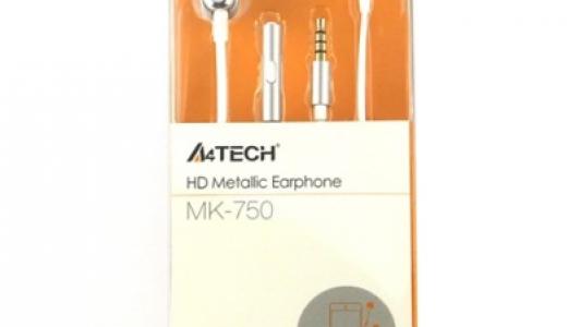 A4Tech Mk-750 Earphone + Mic