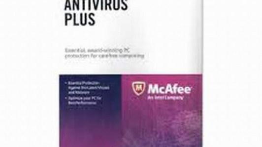Mcafee Antivirus Plus Electronic Key