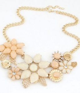 Elegant Temperament Chunky Statement Necklace