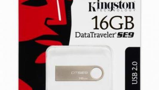 Kingston 16GB Data Traveler SE9 USB 2.0