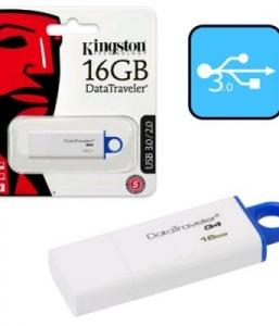 Kingston 16GB Data Traveler G4 USB 3.1/3.0/2.0