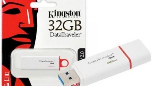 Kingston 32GB Data Traveler G4 USB 3.1/3.0/2.0