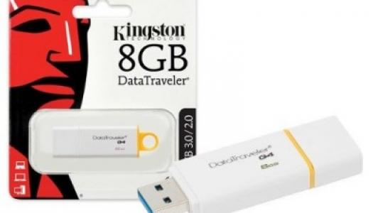 Kingston 8GB Data Traveler G4 USB 3.1/3.0/2.0