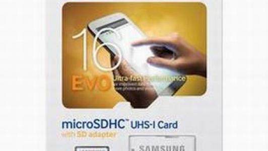 Samsung 16GB EVO Class 10 Micro SDHC